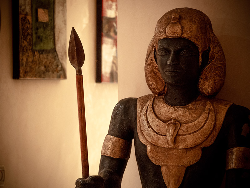 Soldat Egyptien - Temple des Arts
